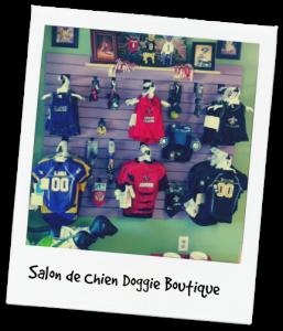 doggie boutique at Salon de Chien